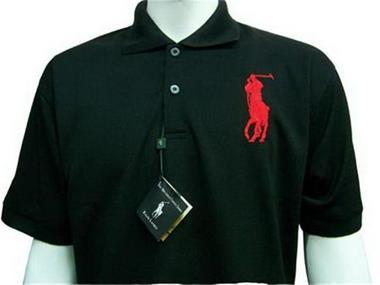 sos - big-pony-sport-polo-shirts black