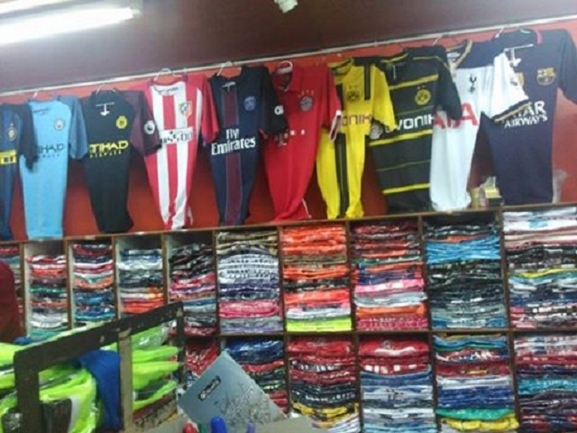 football-shirts-stock